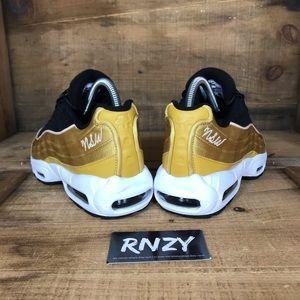NEW Nike Air Max 95 LX NSW Black Gold NWT